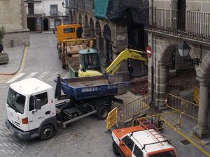 Obras Calle Mayor de Béjar
