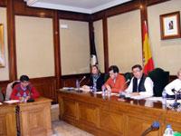 Pleno municipal de Béjar, enero de 2009