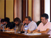 Pleno municipal de Béjar, julio de 2009