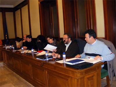 Pleno municipal de Béjar, Enero 2010