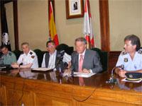 Reunión Junta de Seguridad Local en Béjar