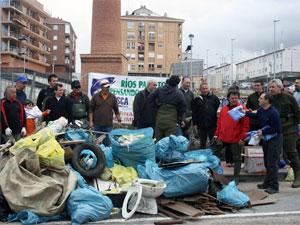 Campaña Rios para todos 2011 en Béjar
