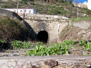 Túnel del Tren que pasa bajo la ciudad de Béjar