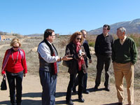 Visita de los Tecnicos de Turespaña a Béjar