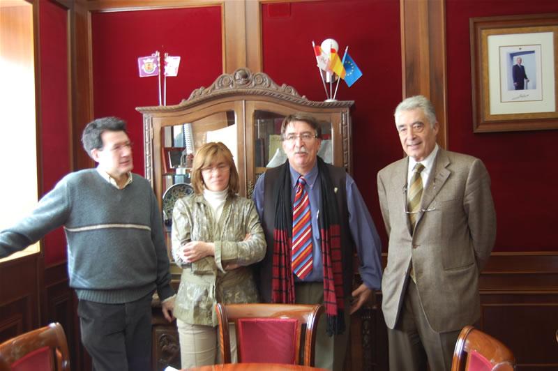 Reunión alcalde de Béjar con medio ambiente