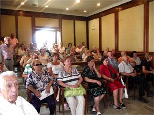 Recepción a los bejaranos ausentes en el Ayuntamiento de Béjar