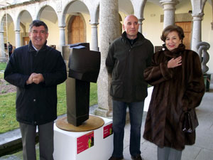 Ganador de la XI Bienal de Escultura Mateo Hernández