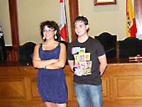 Blanca Cerrudo y Fernando Arroyo, Concejales Ayuntamiento de Béjar