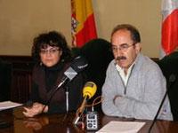 Blanca Cerrudo y Juan Tomas Sanchez