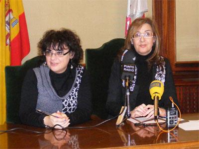 Blanca Cerrudo y Maria Rosa Hernández, concejales Ayuntamiento de Béjar