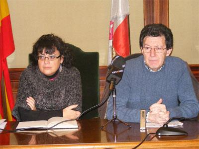 Blanca Cerrudo y Manuel Martin Bejarano