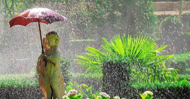 Fuente de el paraguas en EL Bosque de Béjar