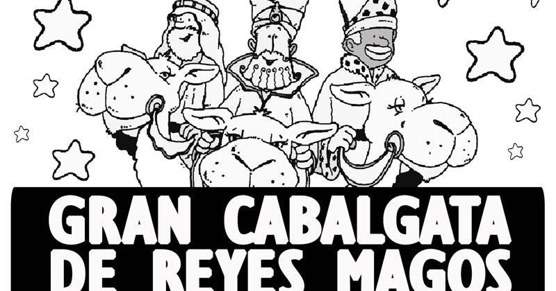 ILUSTRACIÓN CABALGATA DE REYES MAGOS
