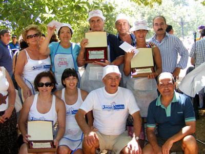 Ganadores Calderillo Bejarano, Béjar agosto 2010