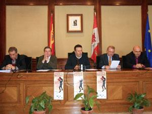 Presentación Campeonato de España de Boxeo Olimpico en Béjar
