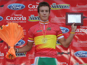 Francisco Medina, Campeón de España Junior de Contrarreloj