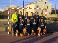 Equipo ganador 24 horas futbol sala Campillo edición del año pasado