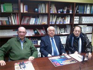 Manuel Bruno junto a Jacinto García