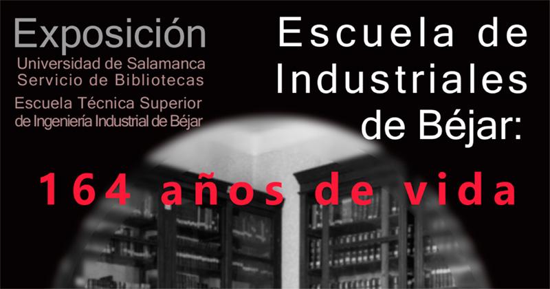 cartel anunciador de la muestra de la ETSII