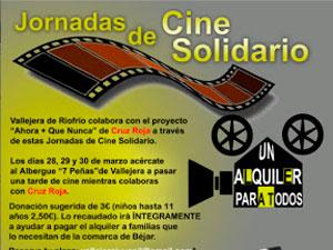 Jornada de Cine solidario en Vallejera