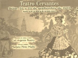 """Cartel Zarzuela """"La alegría de la Huerta"""""""