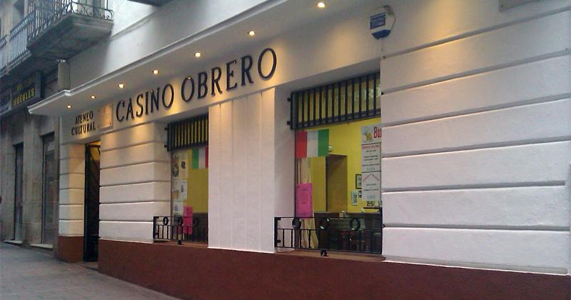 Fachda de El Casino Obrero