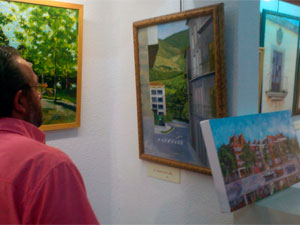Exposición de cuadros de Arturo de la Fuente, Béjar