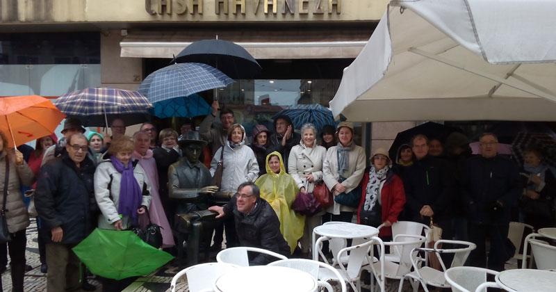 participantes en el viaje a lisboa del Casino Obrero