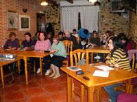 Actividad contra la violencia de genero en Escurial de la Sierra