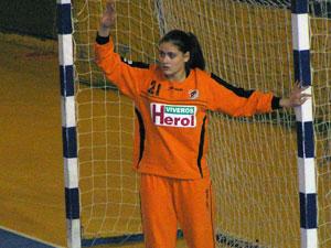 Gadea Fernández, portera del CD Tormes