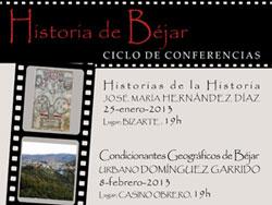 Cartel anunciador del ciclo de conferencias