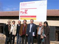 Visita a las obras del Centro de Alzheimer de Béjar