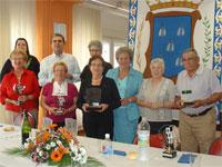 Ganadores Campeonato Juegos de Mesa, Centro de Mayores de Béjar