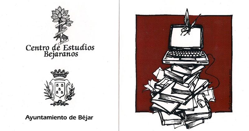 Cartel del premio ciudad de Béjar del centro de estudios bejaranos