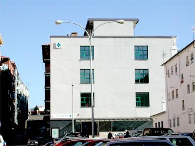 Edificio del centro de salud de Béjar