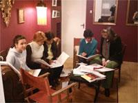 Miembros del jurado del Certamen de Teatro Juvenil de Béjar