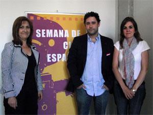 Purificación Pozo, José Miguel Fernández y Inmaculada Martín
