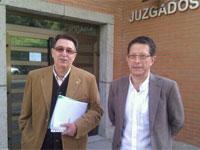 Cipriano González y Pablo Hernández