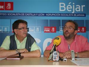 Cipriano González y Jose Luis Rodriguez Celador
