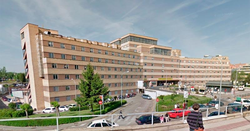 Hospital alq ue fue trasladado el agredido