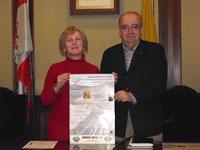 Concha Pérez Escanilla y José Álvarez Monteserín