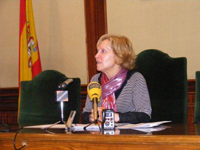 Concha Pérez Escanilla, Concejal de Béjar