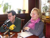 Concha Perez y Manuel Martin, concejales del ayuntamiento de Béjar