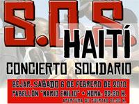 Concierto Solidario SOS Haiti, Béjar
