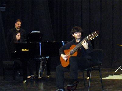 Concierto en el Teatro Cervantes de Béjar
