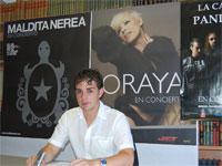 Fernando Arroyo en la presentación de los conciertos para las Fiestas de Béjar 2009