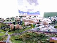 Maqueta del proyecto de La Condesa, Béjar