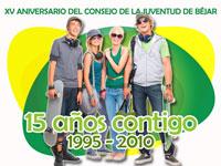 XV Aniversario Consejo de la Juventud de Béjar