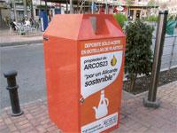 Contenedor de recogida de Aceite en Alicantes