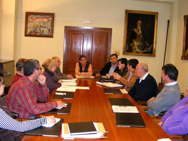 Reunión del Consorcio Corazón de Vetonia en Noviembre de 2008